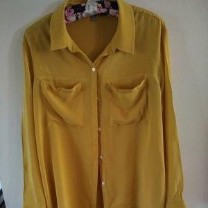 Women's Rubbish brand oversized 100% rayon shirt